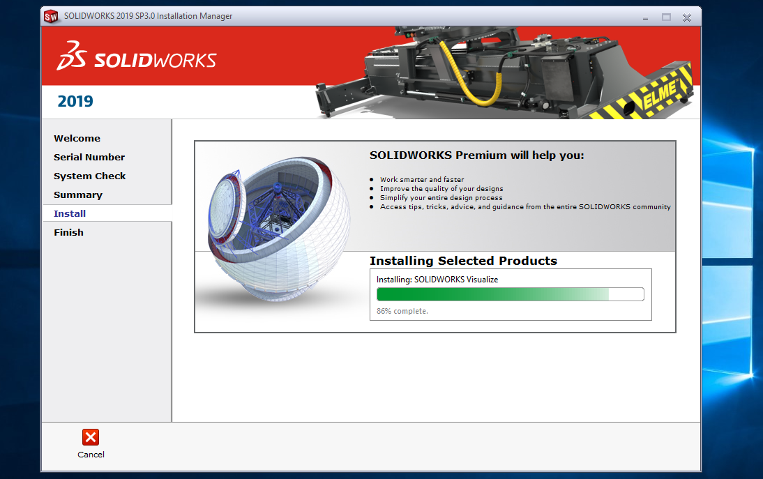 SolidWorks 2019 SP3.0 Premium Multilingual