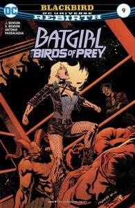Batgirl and the Birds of Prey 009 2017 2 covers Digital Zone-Empire