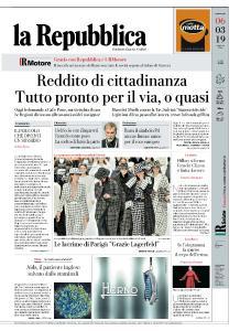 la Repubblica - 6 Marzo 2019