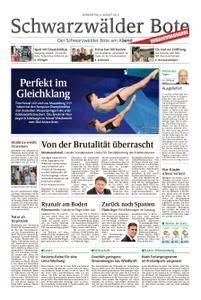 Schwarzwälder Bote Blumberg - 09. August 2018