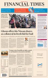 Financial Times Europe – 21 January 2019