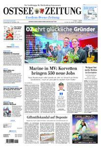 Ostsee Zeitung Wolgast - 15. November 2018