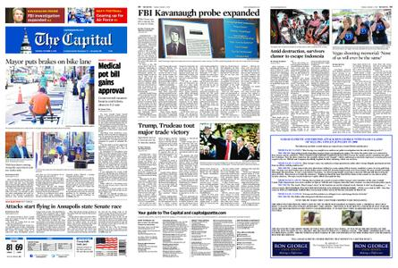 The Capital – October 02, 2018