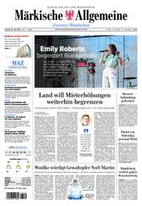 Märkische Allgemeine Zossener Rundschau - 22. Juli 2019