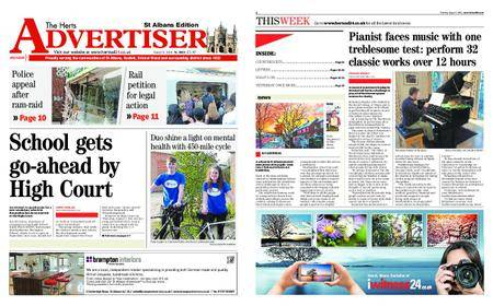 The Herts Advertiser – August 09, 2018