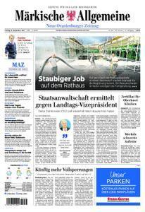Neue Oranienburger Zeitung - 08. September 2017
