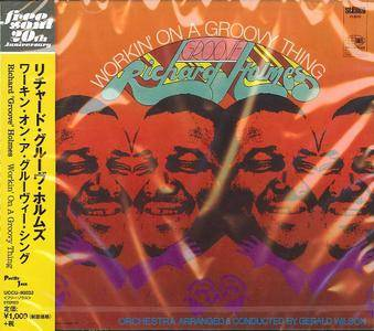 """Richard """"Groove"""" Holmes - Workin' On A Groovy Thing (1968) {Pacific Jazz-Universal Japan UCCU-90032 rel 2014}"""