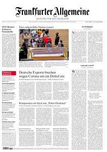 Frankfurter Allgemeine Zeitung - 10 Juni 2020