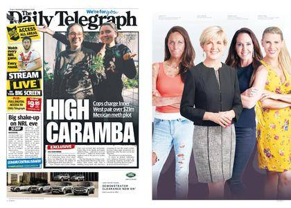 The Daily Telegraph (Sydney) – March 08, 2018