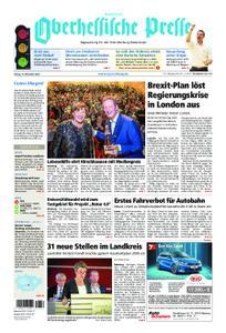 Oberhessische Presse Hinterland - 16. November 2018