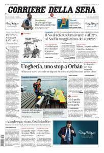 Corriere della Sera - 3 Ottobre 2016