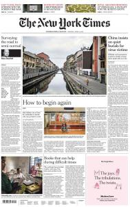 International New York Times - 6 April 2020