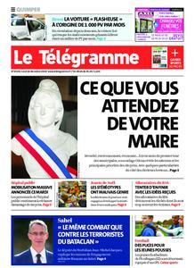Le Télégramme Quimper – 16 décembre 2019