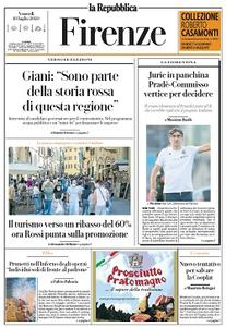 la Repubblica Firenze - 10 Luglio 2020