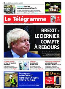 Le Télégramme Ouest Cornouaille – 28 janvier 2020