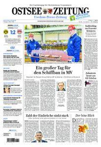 Ostsee Zeitung Wolgast - 09. März 2018