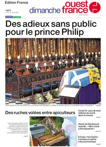 Ouest-France Édition France – 18 avril 2021