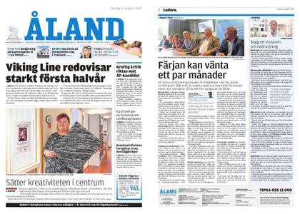 Ålandstidningen – 21 augusti 2019
