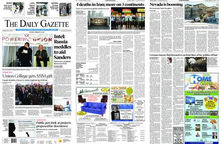 The Daily Gazette – February 22, 2020