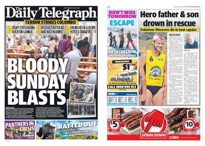 The Daily Telegraph (Sydney) – April 22, 2019