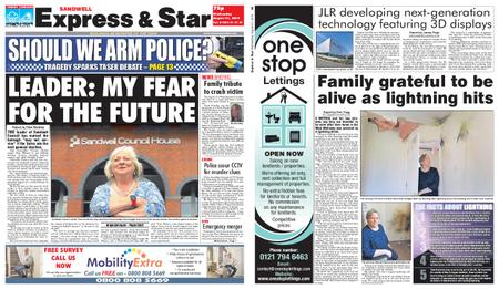 Express and Star Sandwell Edition – August 21, 2019