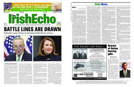 The Irish Echo – August 21, 2019