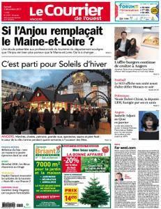 Le Courrier de l'Ouest Angers - 02 décembre 2017