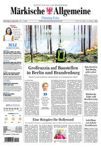 Märkische Allgemeine Fläming Echo - 22. August 2019
