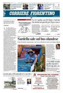 Corriere Fiorentino La Toscana - 25 Aprile 2018
