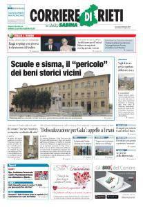 Corriere di Rieti - 9 Febbraio 2017