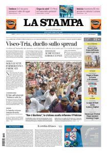 La Stampa Imperia e Sanremo - 1 Novembre 2018