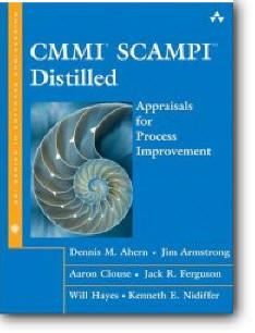 Dennis M. Ahern, et al, «CMMI SCAMPI Distilled : Appraisals for Process Improvement»