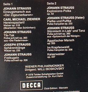 Wiener Philharmoniker Neujahrkonzert 1979