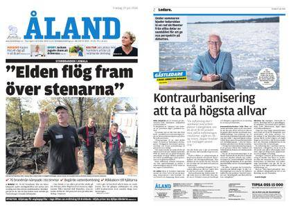 Ålandstidningen – 27 juli 2018
