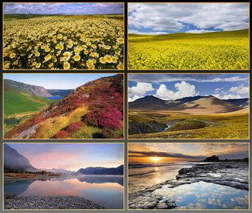 Landscapes - wallpaper