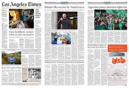 Los Angeles Times – December 31, 2020