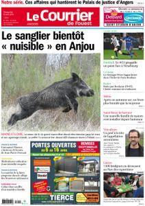 Le Courrier de l'Ouest Angers - 08 avril 2018