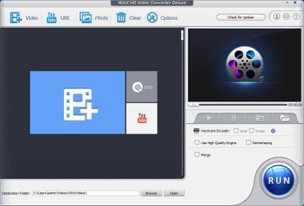 WinX HD Video Converter Deluxe 5.11.0.291 Build 13.11.2017 Multilingual Portable