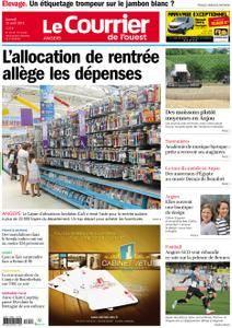 Le Courrier de l'Ouest Angers - 18 août 2018