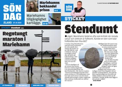 Ålandstidningen – 27 oktober 2019