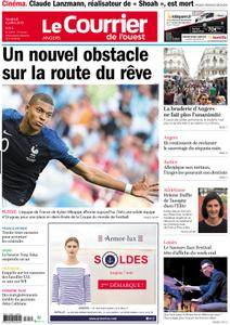 Le Courrier de l'Ouest Angers - 06 juillet 2018