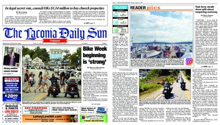 The Laconia Daily Sun – August 25, 2020
