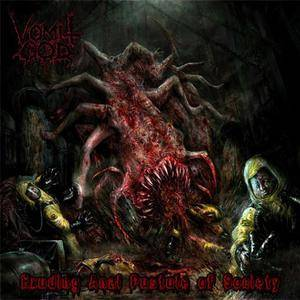 Vomit God - Exuding Anal Pustule Of Society (EP) (2013) {2014 Rising Nemesis}