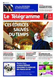 Le Télégramme Brest Abers Iroise – 29 décembre 2019