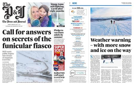 The Press and Journal Moray – February 08, 2021