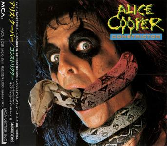 Alice Cooper - Constrictor (1986) {1991, Japan 1st Press}