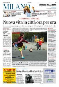 Corriere della Sera Milano – 20 aprile 2020