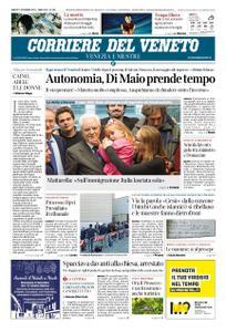 Corriere del Veneto Venezia e Mestre – 01 dicembre 2018