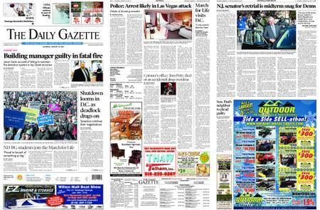 The Daily Gazette – January 20, 2018