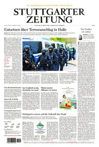 Stuttgarter Zeitung Kreisausgabe Ludwigsburg - 10. Oktober 2019